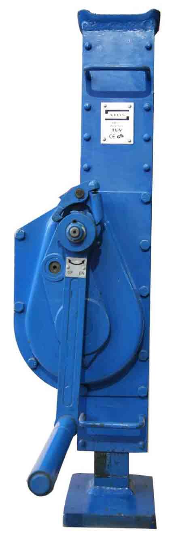 فروش و عرضه جک دنده ای مکانیکی در تناژ مختلف
