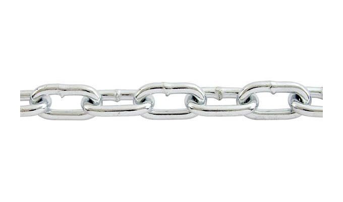 فروش زنجیر گالوانیزه جوشی از سایز3 الی12